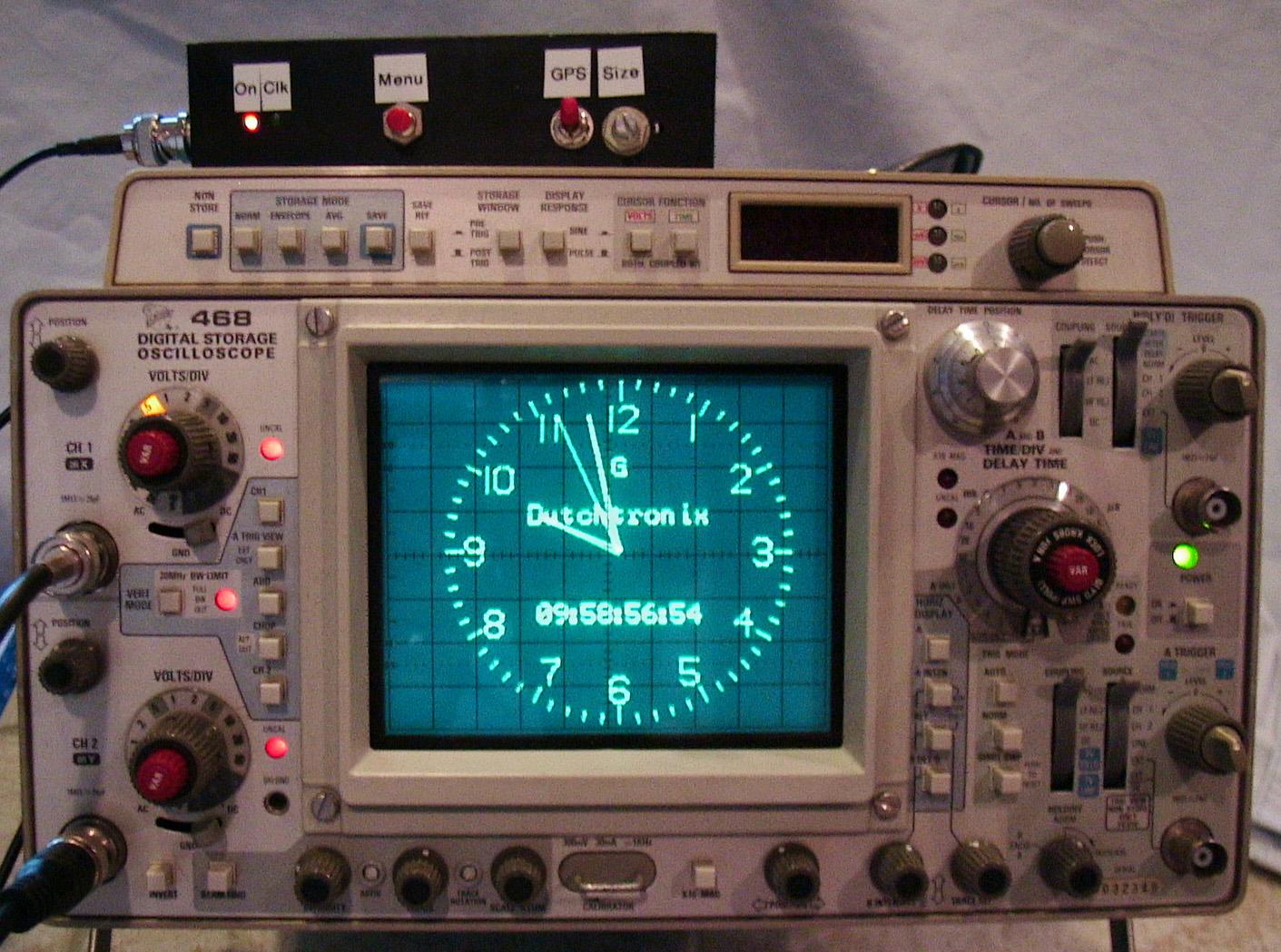 Gps Based Clock Box